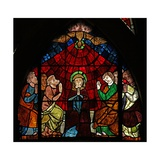 Window W14 Depicting the Virgin Mary and the Apostles at Pentecost Giclee Print