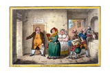 An Old Maid on a Journey, Print Made by James Gillray, 1804 Giclee Print by Brownlow North