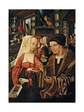 The Ill-Matched Lovers Giclee Print by Jacob Cornelisz van Oostsanen