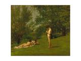 Arcadia, Circa 1883 Giclee Print by Thomas Cowperthwait Eakins