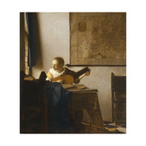 Woman with a Lute, C.1662-1663 Giclee Print by Jan Vermeer