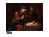 The Birth of Christ Giclee Print by Frans II the Younger Francken