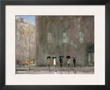 Waiting For A Cab, Park Avenue Prints by Max Moran
