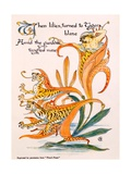 Tiger Lilies, Illustration from 'Flora's Feast' by Walter Crane, First Published 1889 Giclee Print by Walter Crane