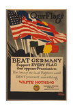Beat Germany Giclee Print by Adolph Treidler