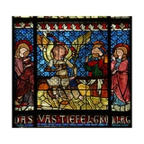 Window W14 Depicting the Holy Women at the Tomb Giclee Print