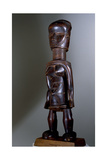 Figure of the Bete People of Ivory Coast, Africalocation 40 Giclee Print