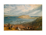 Falmouth Harbour, Cornwall, C.1812-14 Giclee Print by J. M. W. Turner