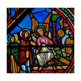 Window W15 Depicting a Resurrection Scene: the Holy Women at the Tomb Giclee Print