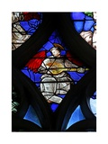 Window W4 Depicting an Angel Musician Giclee Print