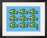 Fish Fart Posters by Todd Goldman