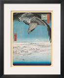 Eagle Flying over the Fukagama District Print by Ando Hiroshige