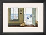 Looking Over the Sea Framed Giclee Print by Zhen-Huan Lu