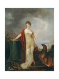 Hebe Giclee Print by Peter Eduard Stroehling