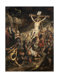 Raising of the Cross Giclee Print by Gerard Seghers