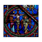 Window W15 Depicting the Crucifixion Giclee Print