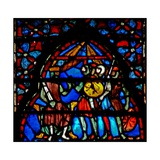 Window W4 Joshua Gives Orders Giclee Print