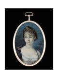 Princess Zinaida Aleksandrovna Belosel'skaia-Belozerskaia, C.1862 Giclee Print by Peter Eduard Stroehling