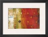 Dark Flame Framed Giclee Print by Eric Balint