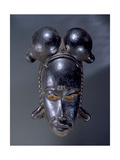 Mask of the Guro People of Ivory Coast, Africalocation 42 Giclee Print