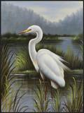 Morning Egret Posters by  Kilian