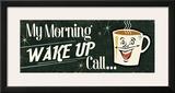 Funny Coffee I Print by  Pela