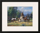 Empty Lodge Prints by Martin Grelle