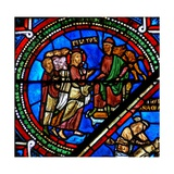 Window W15 Depicting Christ before Pilate Giclee Print