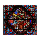 Window W4 Joshua Captures Hazor Josh Xi 10-11 Giclee Print