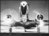 Front View of Passenger Airplane Prints