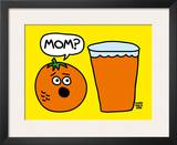 Mom OJ Prints by Todd Goldman