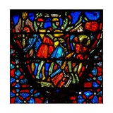 Window W4 Joshua and the Gibeonites Confront Five Amorite Kings Josh X 10 Giclee Print