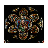 Window W207 Depicting the Virgin and Child Giclee Print