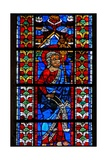 Window W211 Depicting St Jude Giclée-Druck