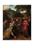 The Raising of Lazarus Giclee Print by Otto van Veen