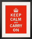 Keep Calm and Carry On II Posters