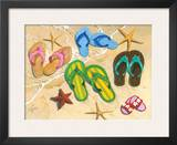 Flip-Flop Family Prints by Scott Westmoreland