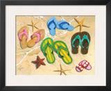 Flip-Flop Family Prints by Scott Westmoreland