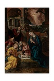 The Birth of Christ Giclee Print by Maarten de Vos