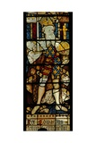 Window Ww Depicting King Edward III Giclée-Druck