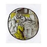 Depicting Jacob Gives His Blessing, Originally from the Low Countries Giclee Print