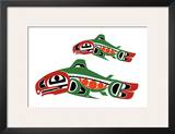 New salmon Prints by Joe Mandur Jr.