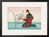 Dream Catcher Print by Maxine Noel