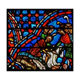 Window W9 Depicting Joseph's Brothers Take the Coloured Coat Giclée-Druck