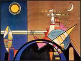 Das Grosse Tor Zu Kiew Art by Wassily Kandinsky