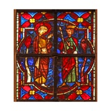 Window W212 Depicting St John the Baptist before Herod Giclee Print