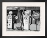 Gas Station Route 66 Posters by Richard Cummins