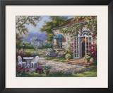 Spring Patio II Prints by Sung Kim