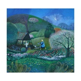 Midnight Garden, 2012 Giclee Print by Lisa Graa Jensen