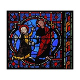 Window W02 Depicting a Resurrection Scene: Noli Me Tangere Giclee Print